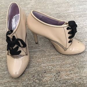 Red Valentino Lace up Booties